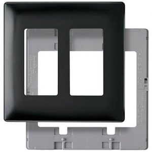 Pass & Seymour SWP262DBBPCC10 Two Gang Decorative Wall Plate ...