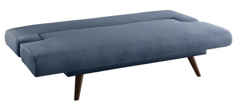 Coaster Minimalist Sofa Bed Grey Flax Fabric
