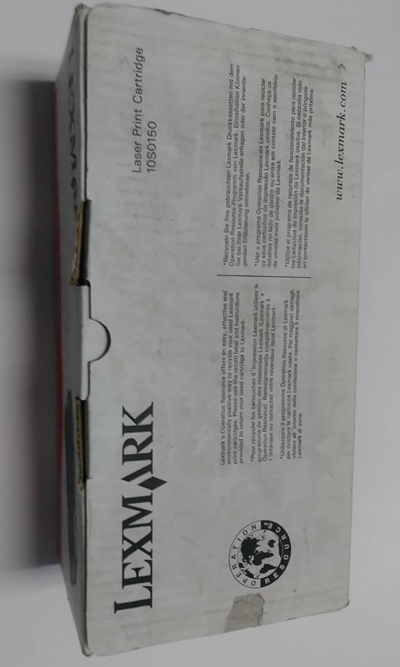 N Lexmark Toner Print Cartridge 2K pgs Lexmark E210 10S0150