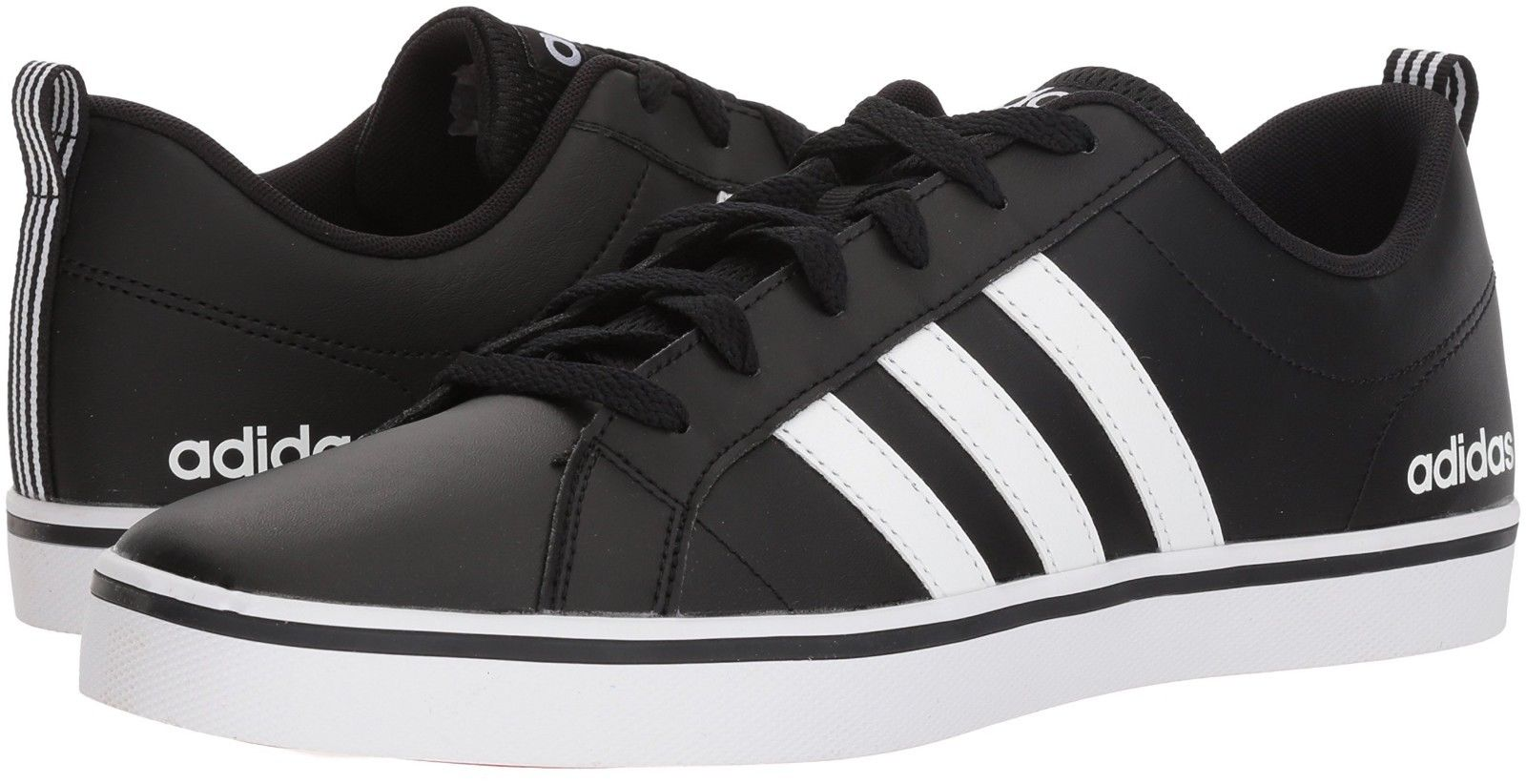 info for f3a6f c5bc2 adidas Men s VS Pace Sneaker, Core Black, FTWR White B74494 BASKETBALL US  Size 10