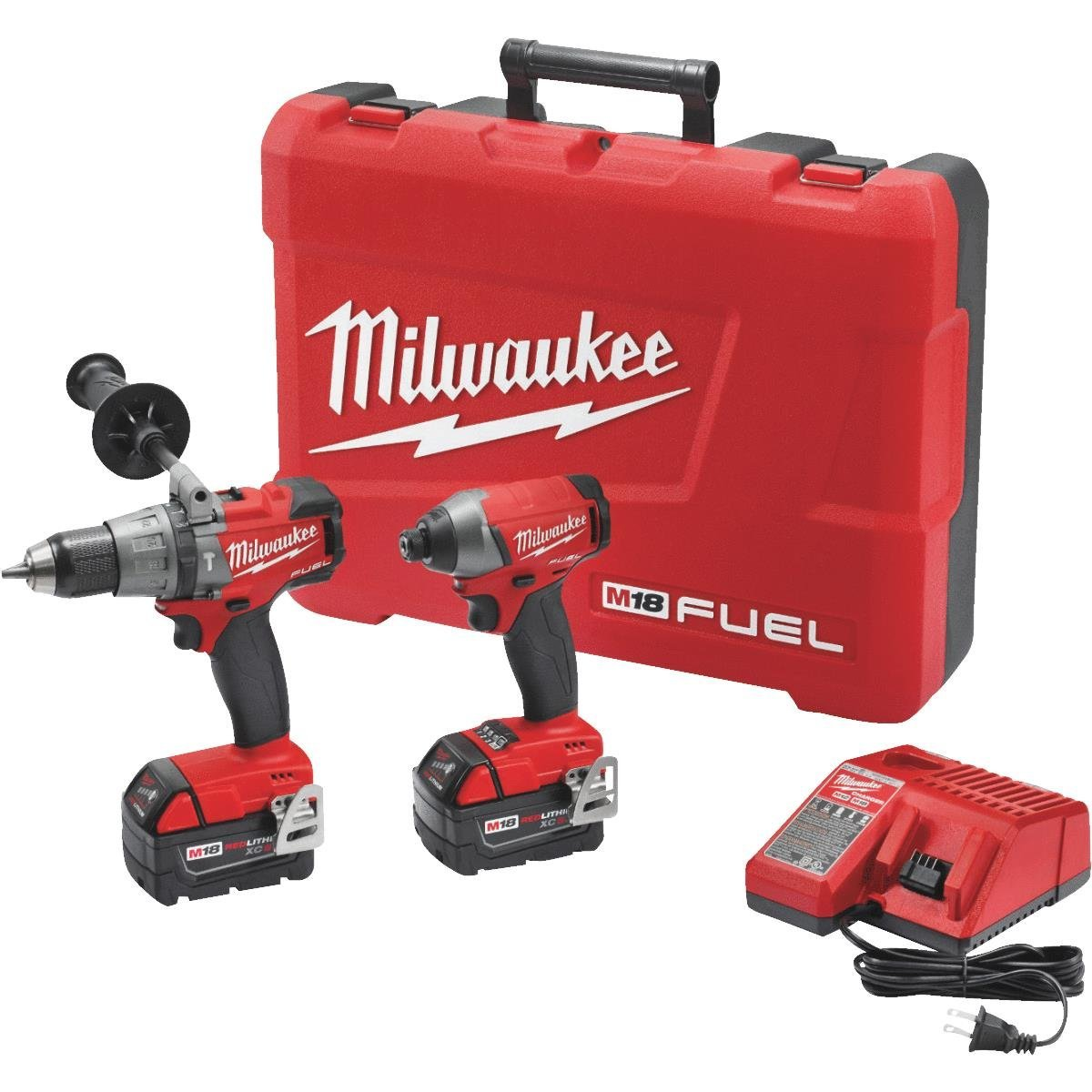 Milwaukee Electric Tools 2997 22 Hammer Drill Impact Driver Kit