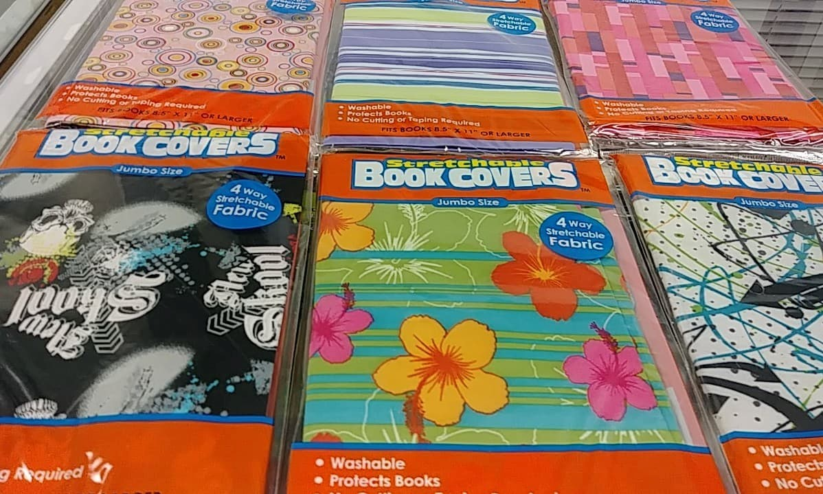 Stretchable Jumbo Book Covers