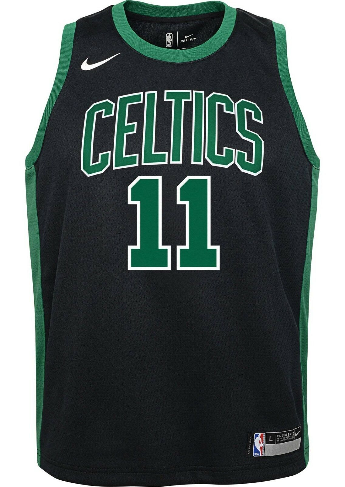 new style f0cde 0d115 Nike Youth Boston Celtics Kyrie Irving #11 Black Statement Dri-FIT Swingman  Jersey
