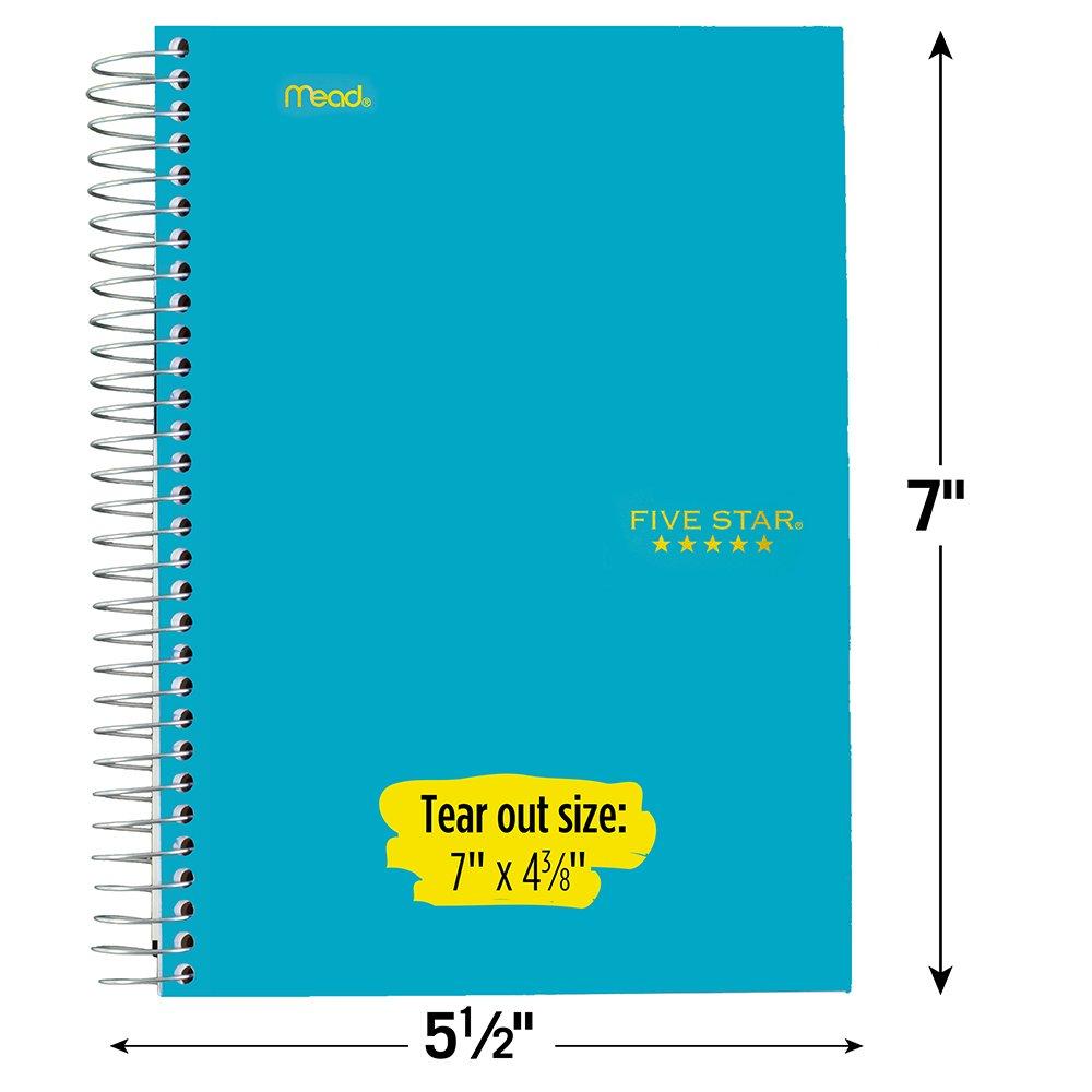 ghdonat.com Paper Office Supplies 2 Subject 06180AA4 Five Star ...